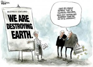 destroying the earth sm